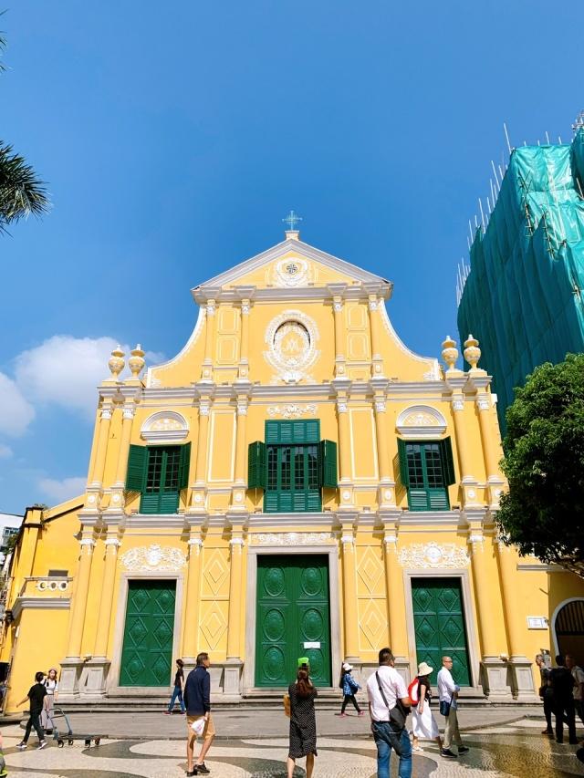 マカオ ドミニコ教会