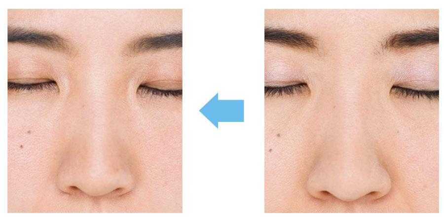 美鼻を作るカモフラメイク2_1