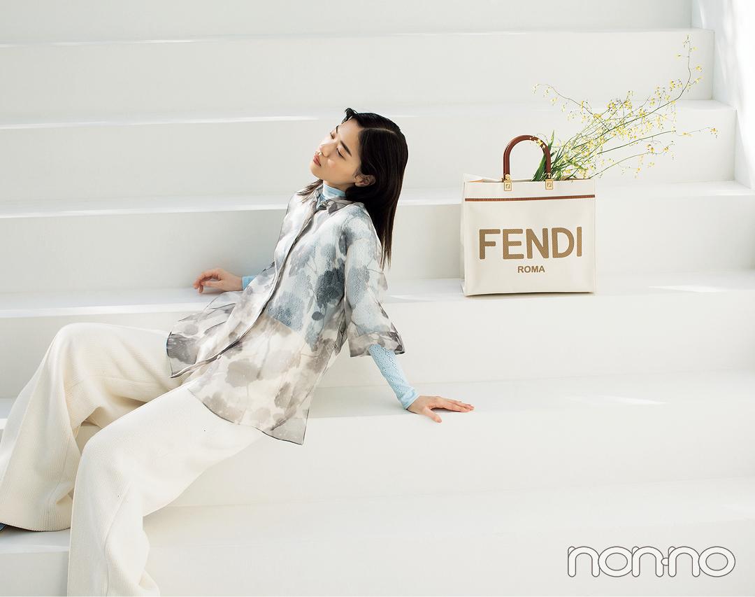Photo Gallery|西野七瀬×FENDIがコラボしたスペシャル特集フォトギャラリー_1_6