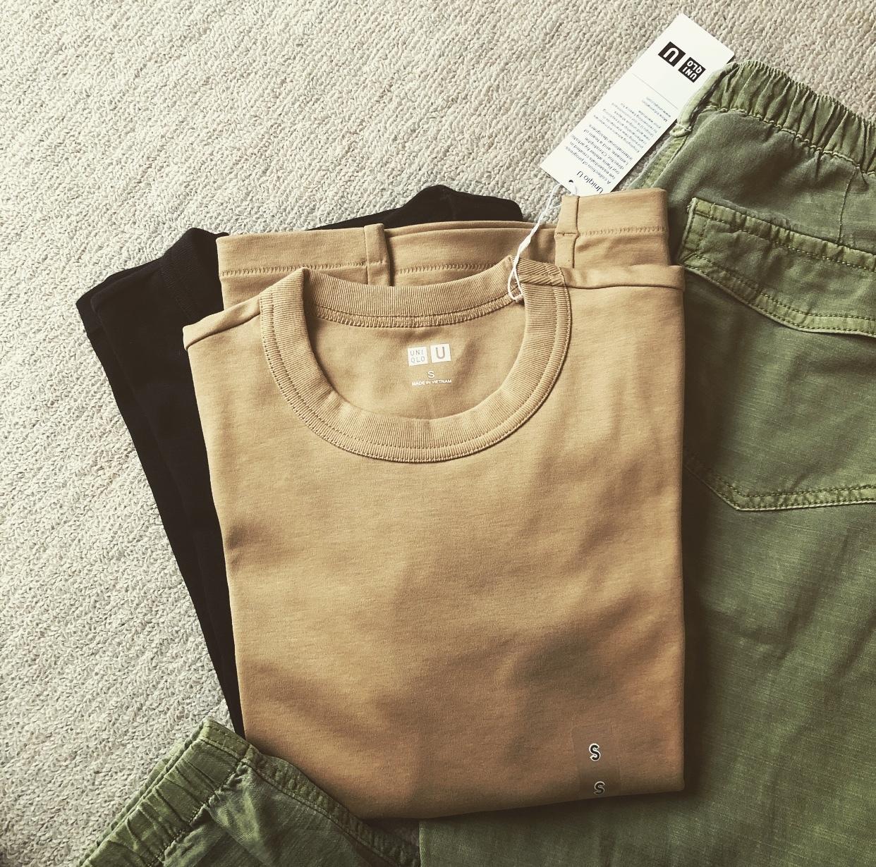 ユニクロ春買いTシャツ、チラ見せを 楽しむ☆_1_5