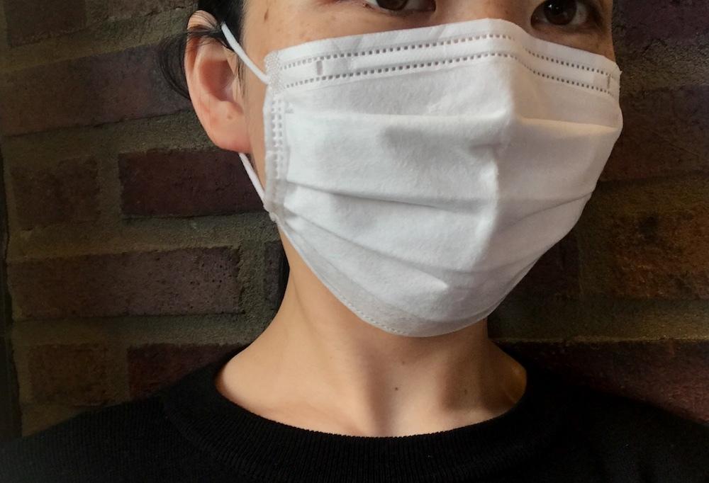 マスクの除菌で湿気も匂いもすっきり