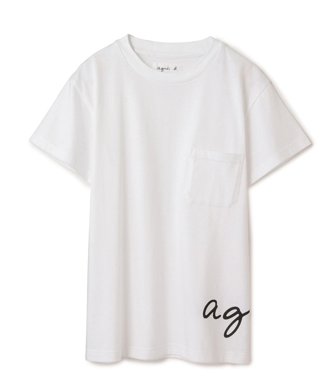 ADAM ET ROPÉがagnès b.とコラボレーション。ロゴをポイントにしたTシャツを発売。_1_4-1