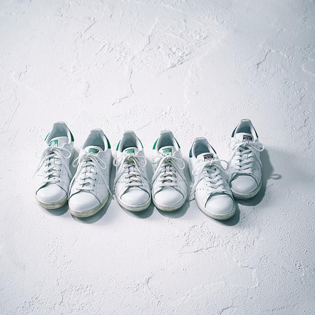 10代のころから愛用しているエッセンシャルアイテム「adidas STAN SMITH」