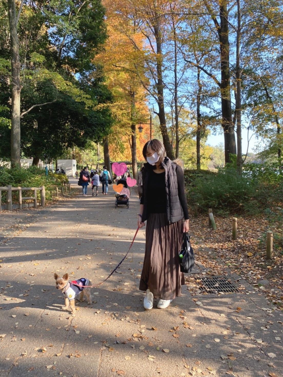 愛犬と秋のお出かけ_1_3