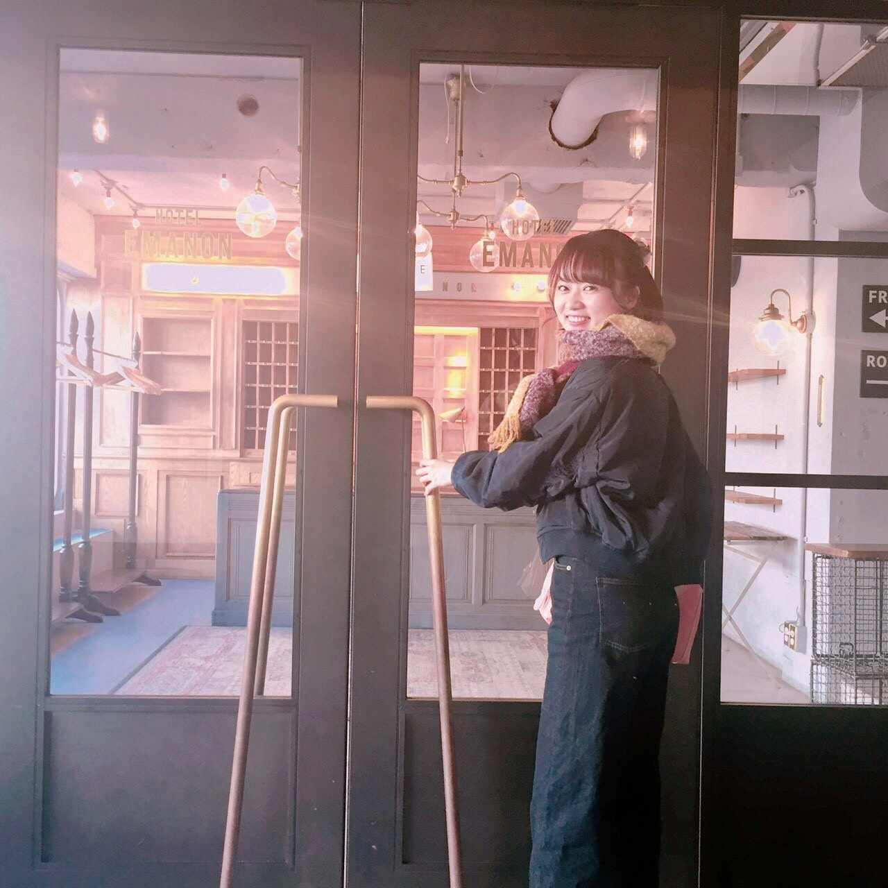 まるでお洒落なホテル♡渋谷カフェ_1_5