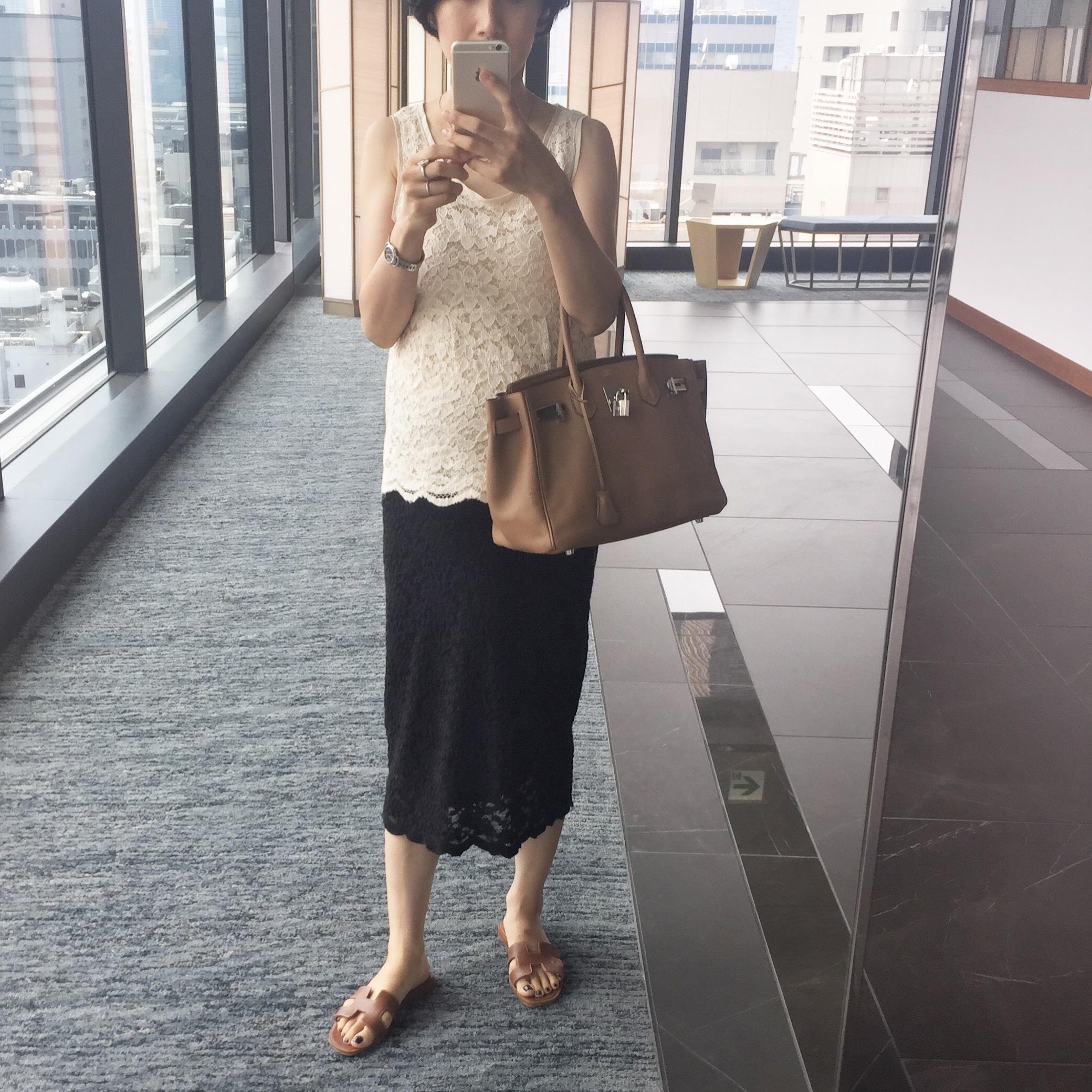 美女組さん真夏のモノトーンコーデ【マリソル美女組ブログPICK UP】_1_1-1