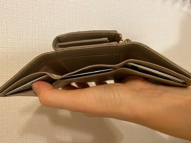 サイズもお値段も可愛い機能的なミニ財布_1_3