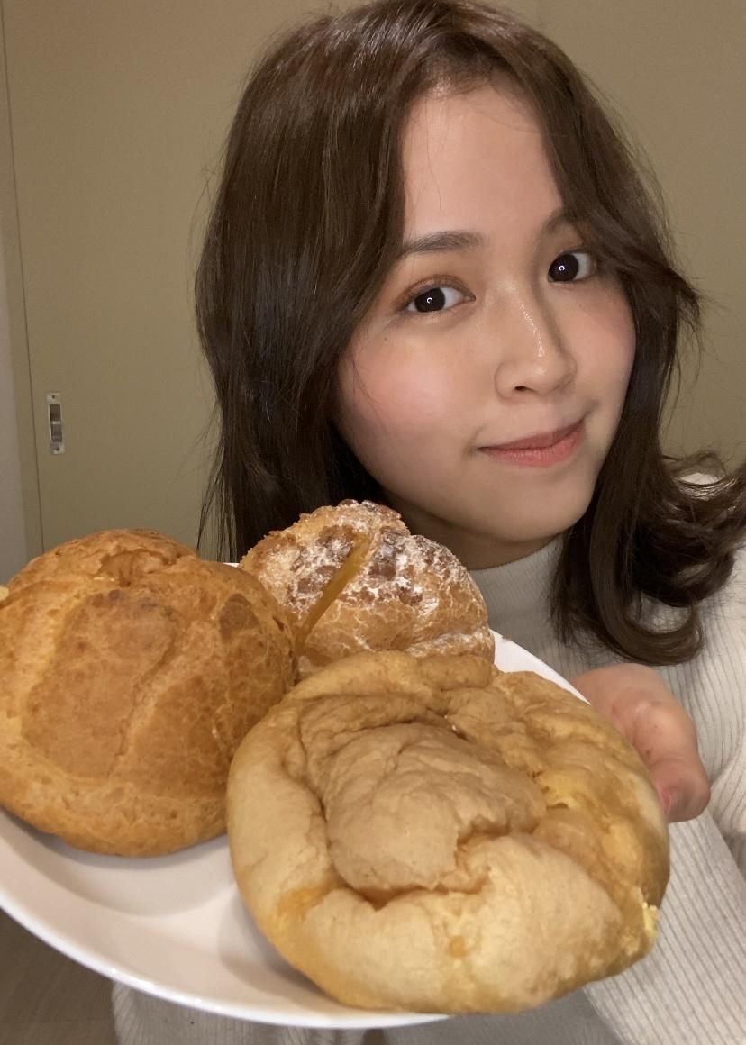 コンビニ3社 シュークリーム食べ比べ_1_1