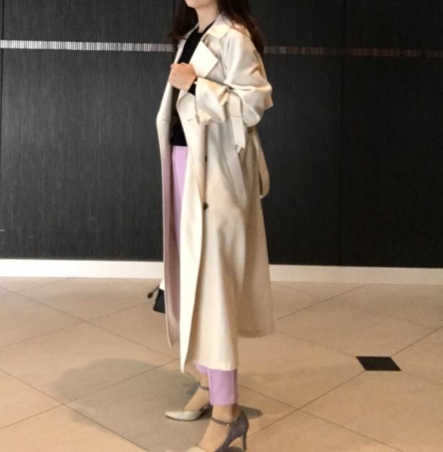 スカートより女っぽい♡美女見えカラーパンツで旬コーデが完成_1_2