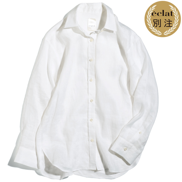 森 慶子×ラスパイユのリネンシャツ