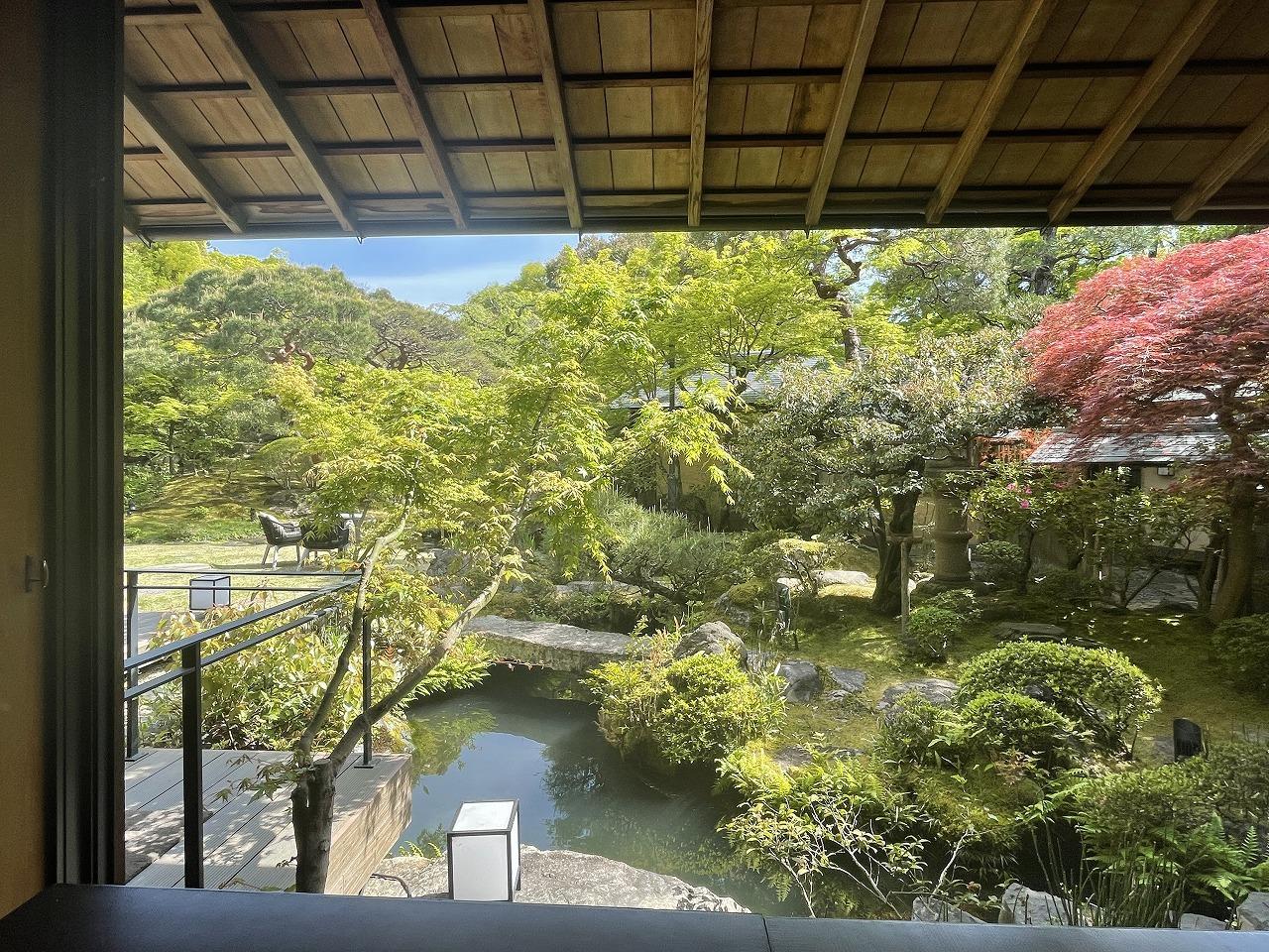 日本の庭園を楽しみながらアフタヌーンティー。_1_2