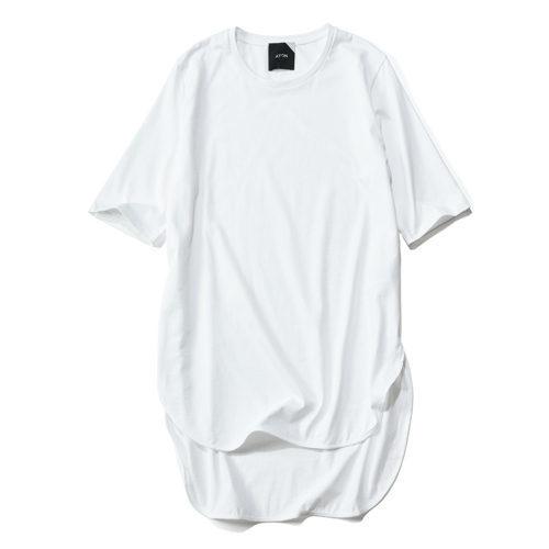 ブランドを代表するアイコン的存在の名品!「ATON」ラウンドヘムTシャツで夏スタイルを格上げ_1_3