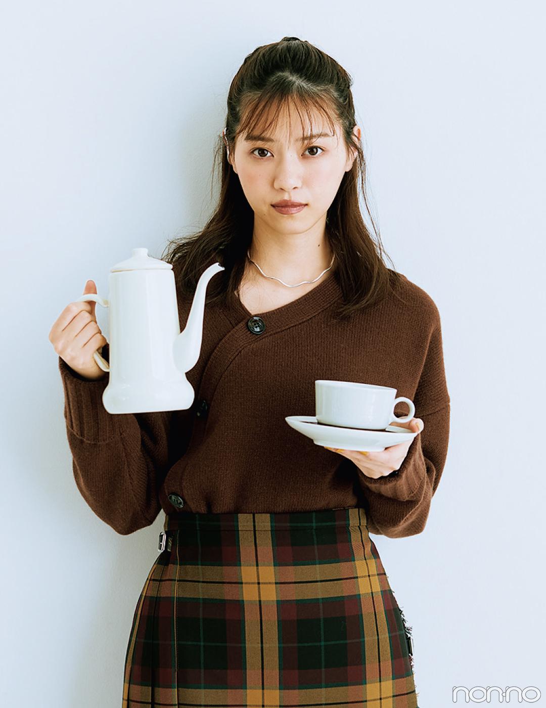 【#西野七瀬の毎日ニット】10/22は「ドリップコーヒーの日」 _1_2