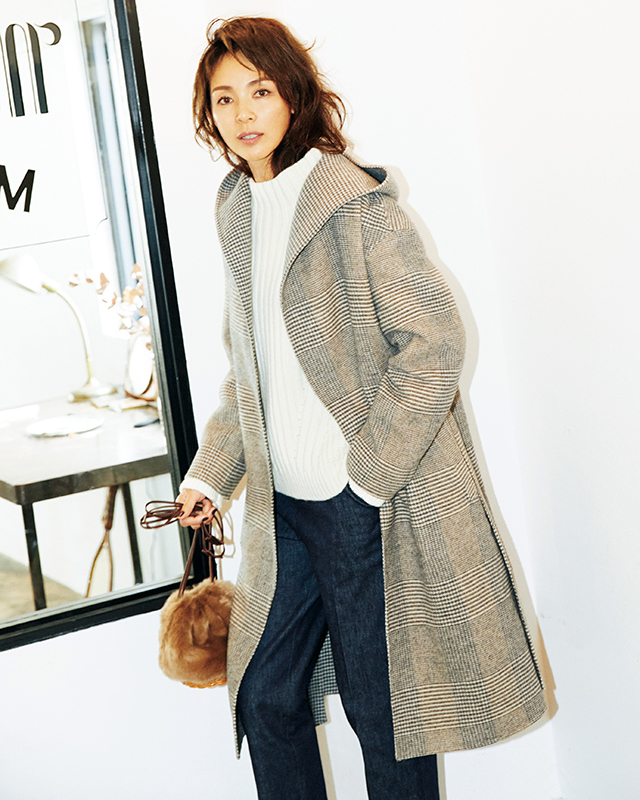 HUMAN WOMANのコート-1