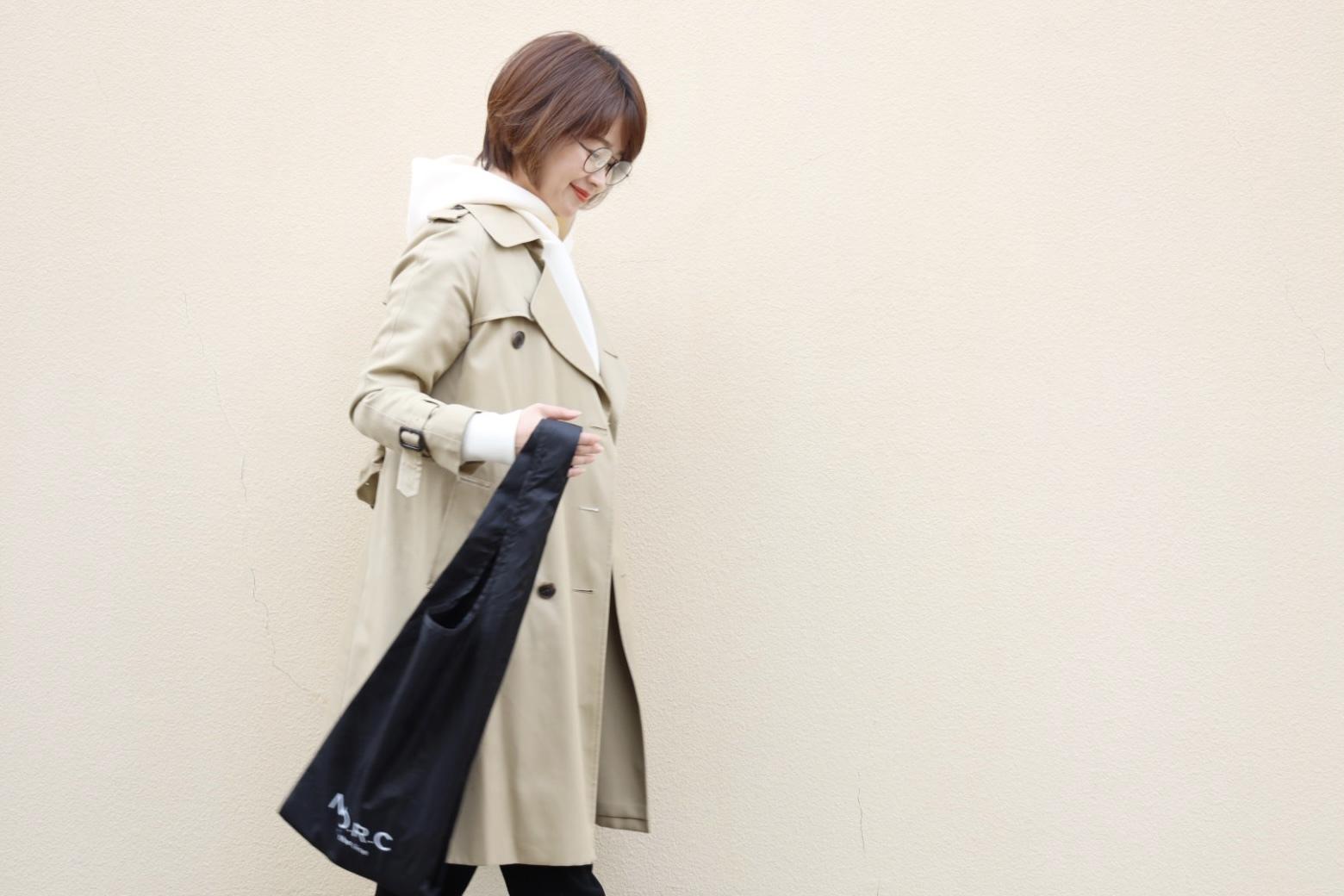 毎日のお買い物に重宝な「N.O.R.C×エクラ」黒ショッパーBAG ♪_1_4