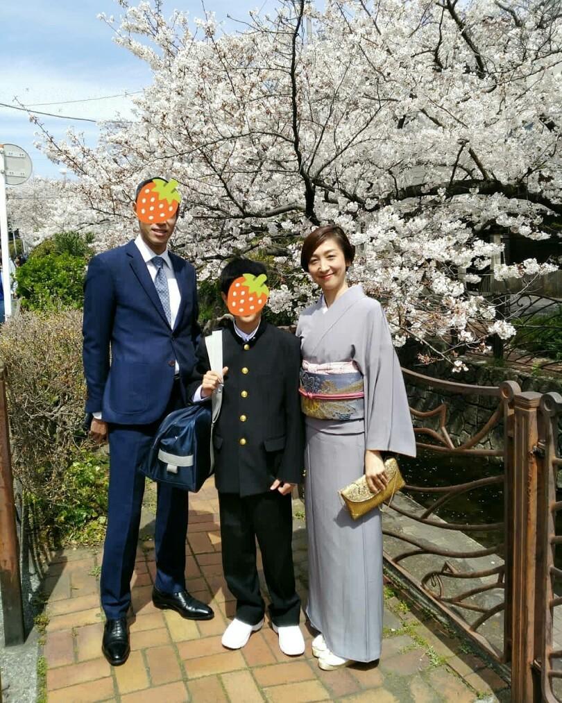 春うらら♪ 和服で入学式_1_4