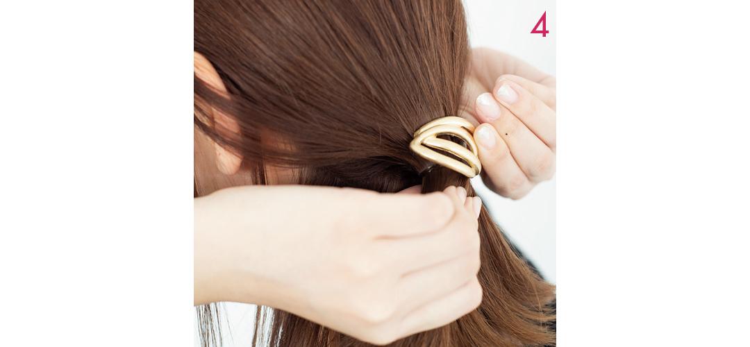 【ヘアアレンジ】まとめ髪を大人っぽく! おくれ毛のベストバランス教えます★_1_7