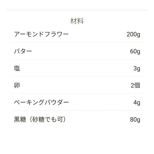 グルテンフリーなクッキーレシピ_1_2
