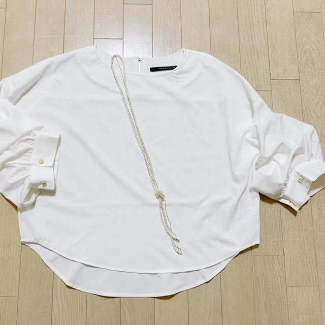 「YECCA VECCA」 2way袖ブラウス ¥7,549-