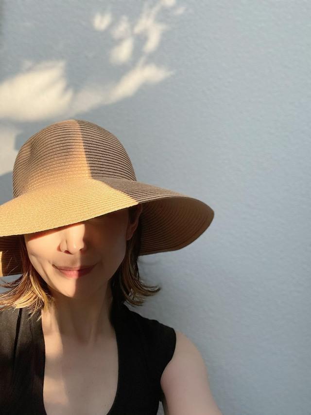 プチプラでゲット♪大人の麦わら帽子。_1_3