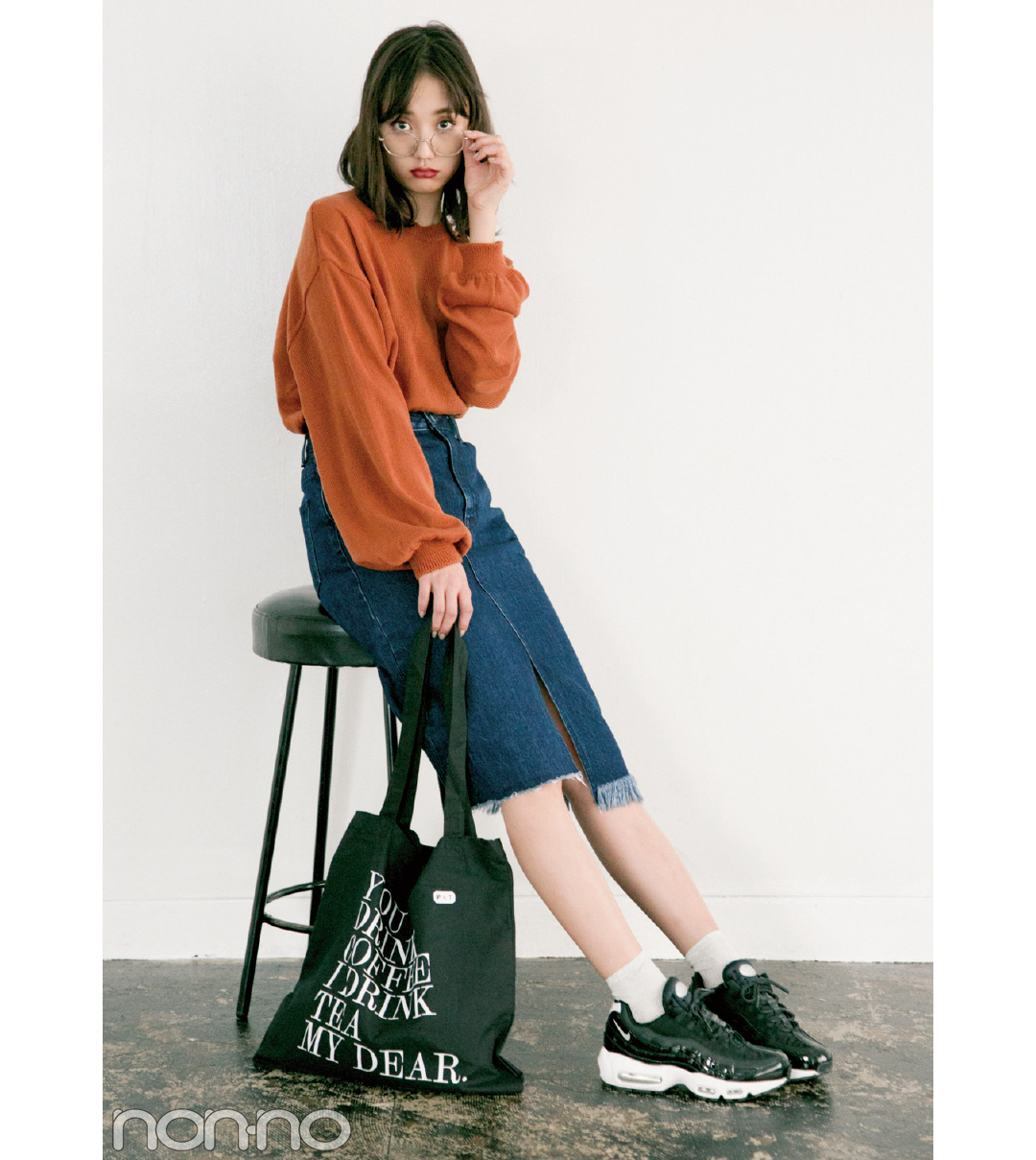 今ドキ韓国ファッション、ちょっぴりレトロなシブ色が来てる!_1_2-2
