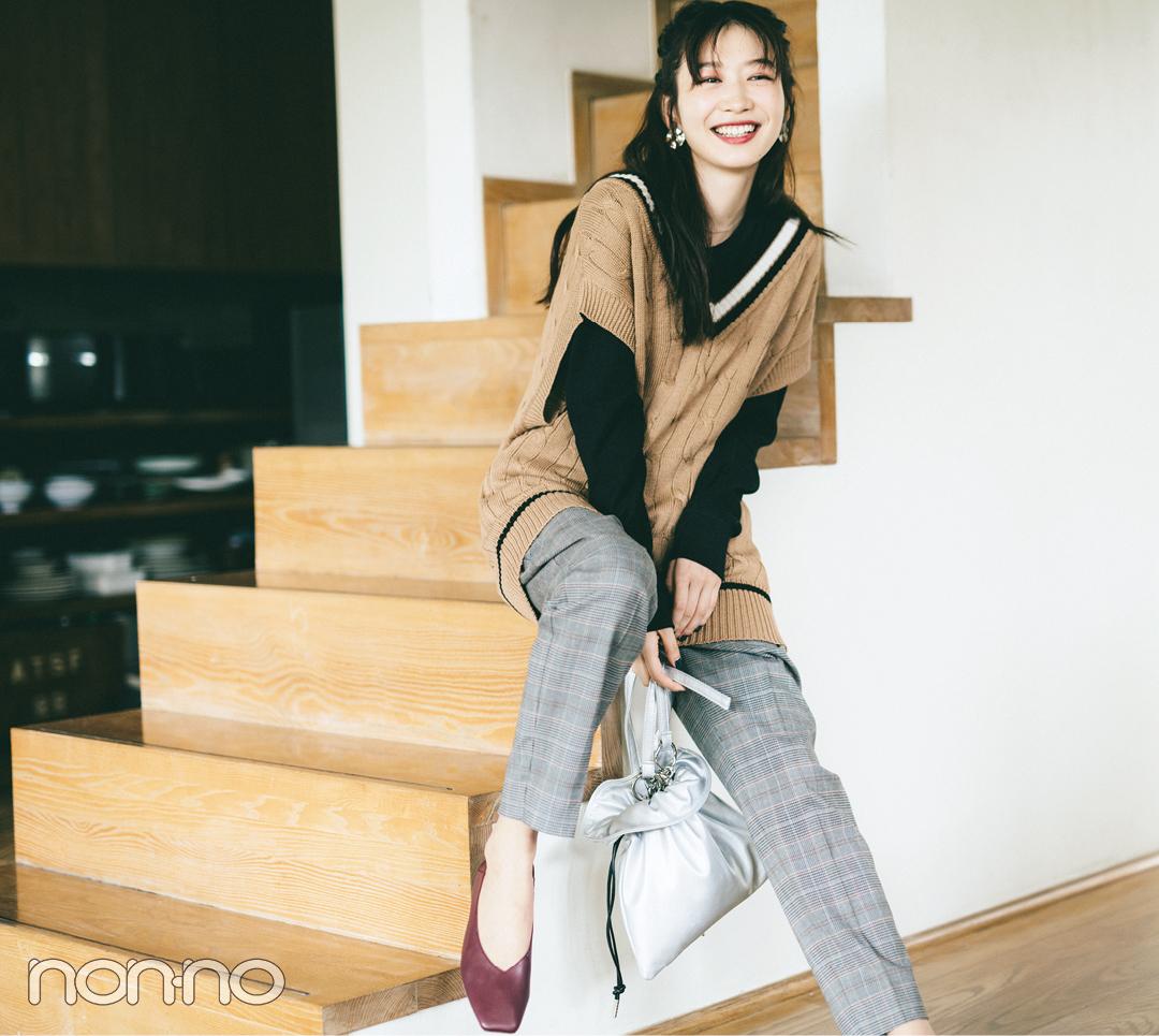 2019秋冬トレンド★ トラッドなチルデンニットのベスト6選!_1_2