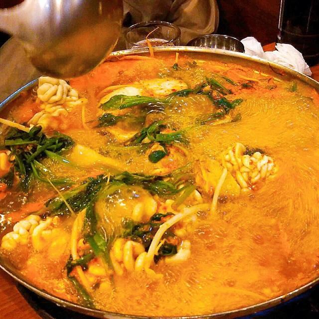 ソウル2019冬。本当に美味しかった店だけ③濃厚すぎるタラ鍋で作る、究極の〆飯_1_4