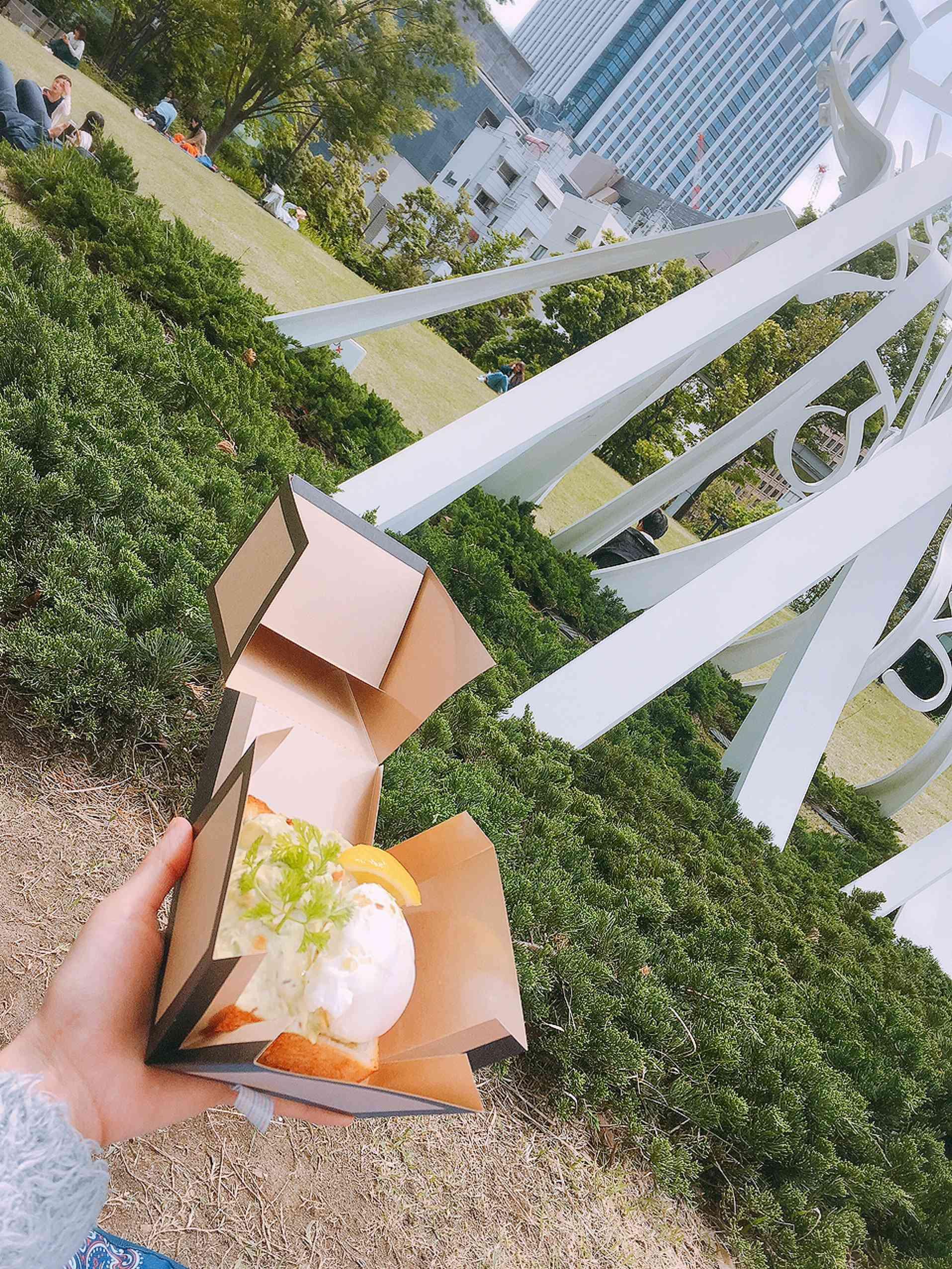 虎ノ門ヒルズでピクニックランチ♡おひとりさまでも_1_1-1