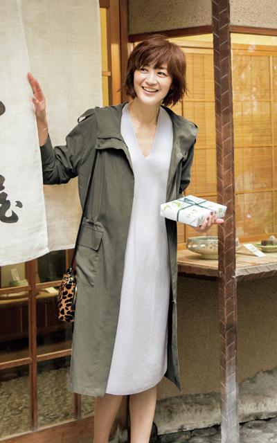 着まわし上手な「E by éclat」で富岡佳子の毎日素敵な10days_1_1-6