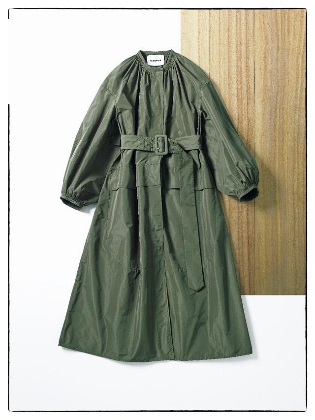 ジルサンダーのコートドレス
