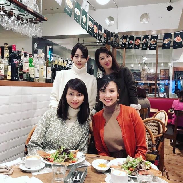 美女組の先輩とランチ_1_1