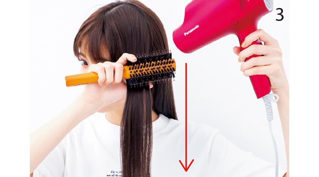 「梅雨でもヘア崩さない女子」のブロー技を超ていねい解説!_1_5