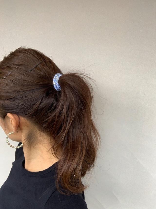 【Summer vacation :Hairstyle】やっぱりポニーテールが好き♡_1_2-1
