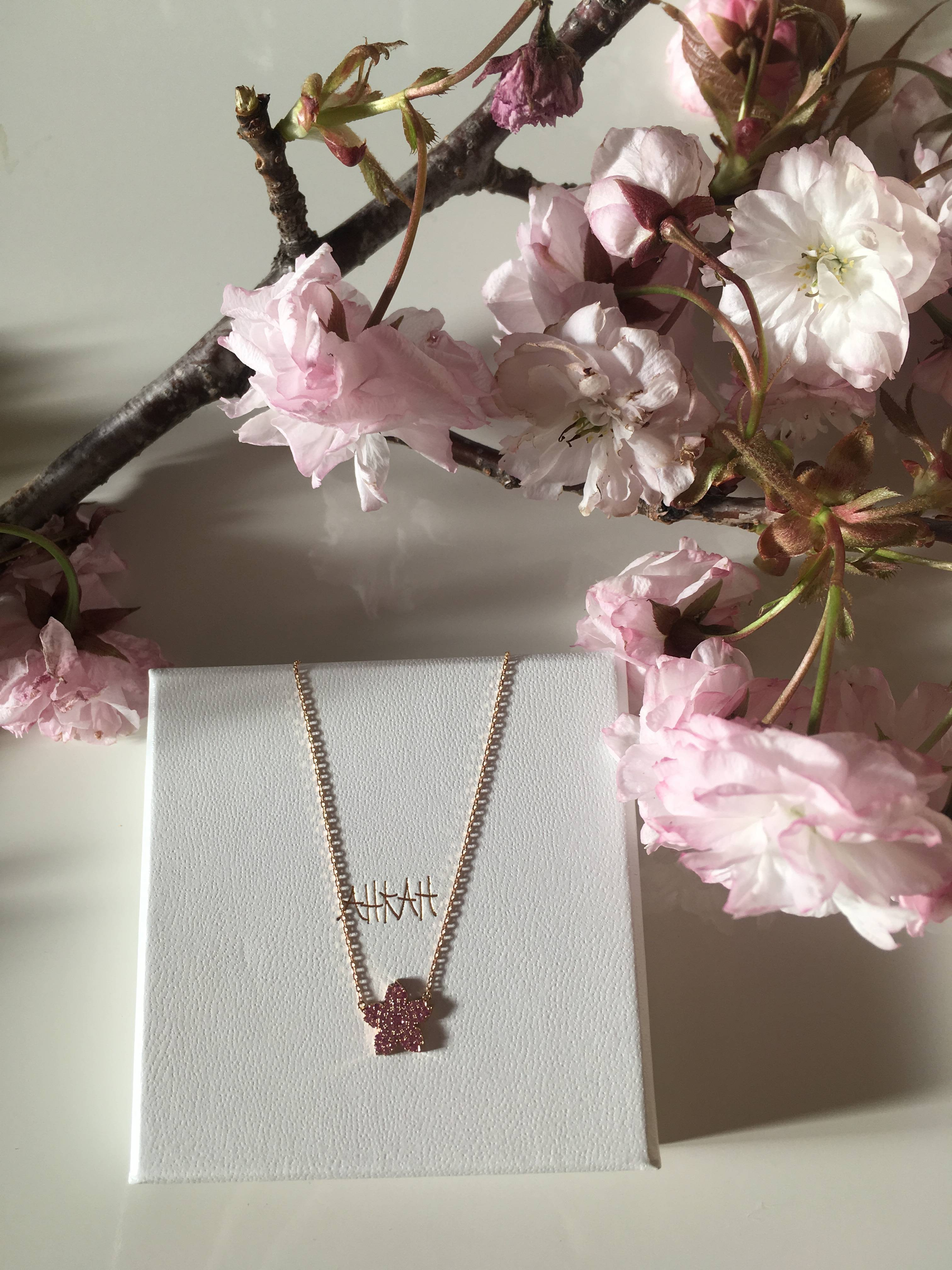 ❀AHKAH 桜ネックレス✿_1_1