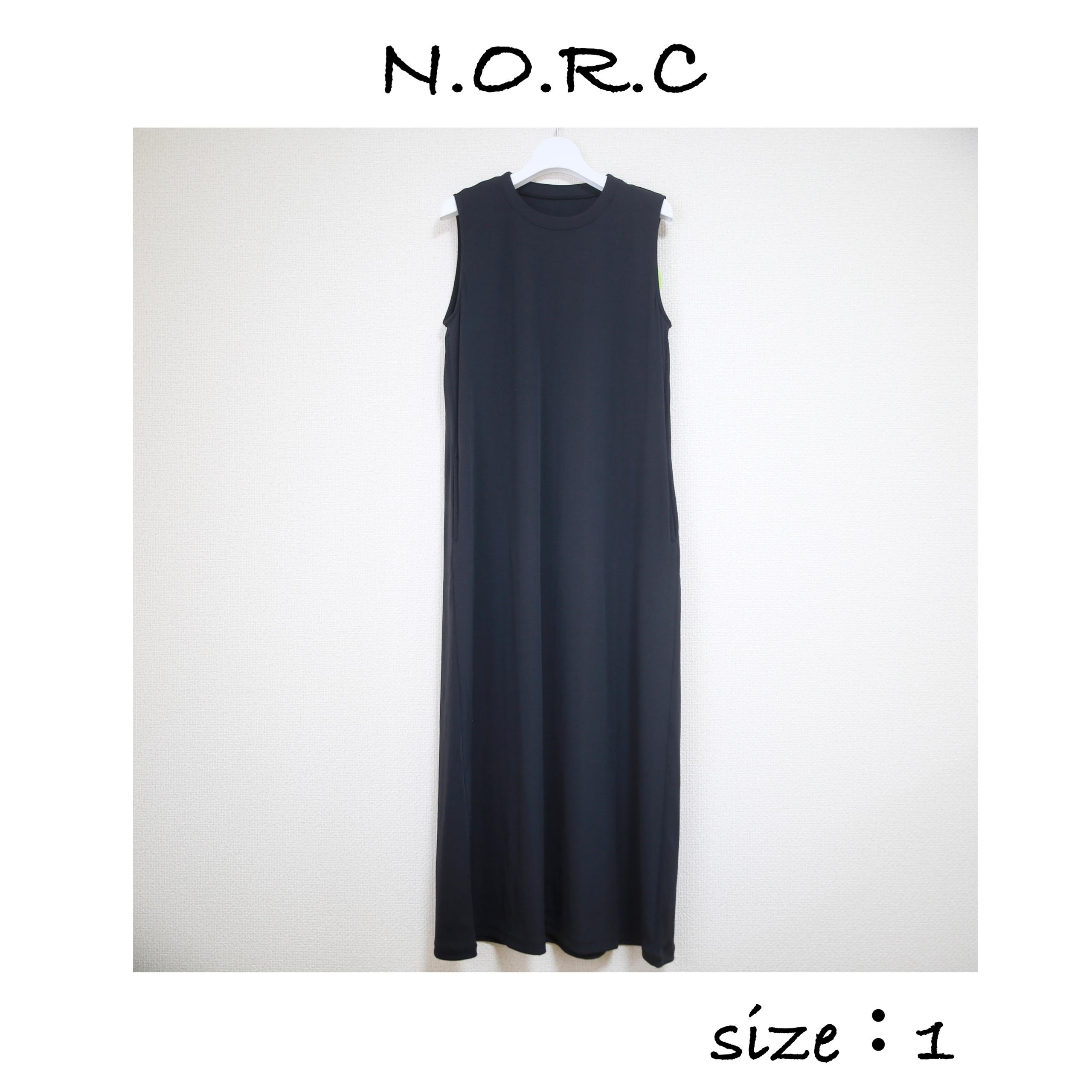小柄 ロングワンピース NORC