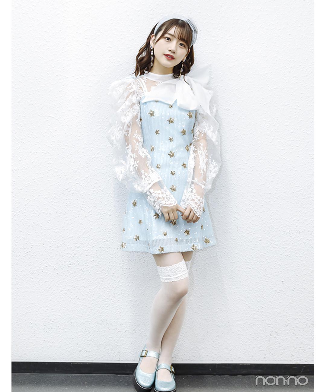 佐々木美玲(日向坂46)「日向坂46×DASADA LIVE&FASHION SHOW」衣装2