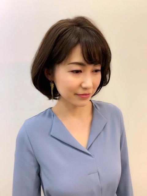 福岡からひとっ飛び!表参道の美容室で、春の軽やかボブスタイル☆_1_3