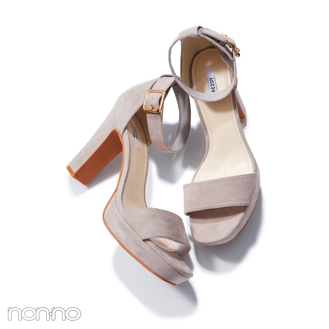 サンダル2019★ ヒールストラップ+靴下のミックスコーデで差をつける!_1_4-2