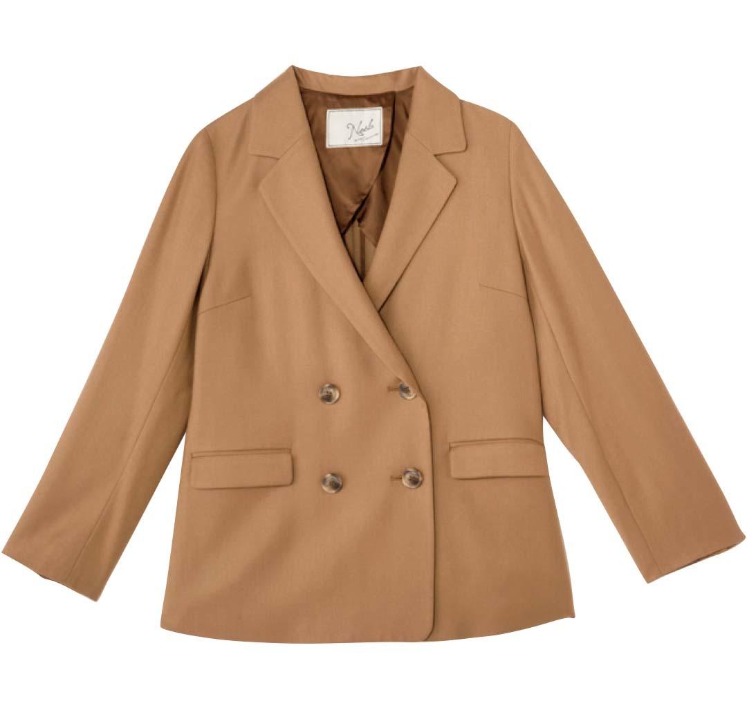 今すぐ着られる秋トレンド★シンプル服をブラウンに変えるだけでコーデに差がつく!_1_3-1