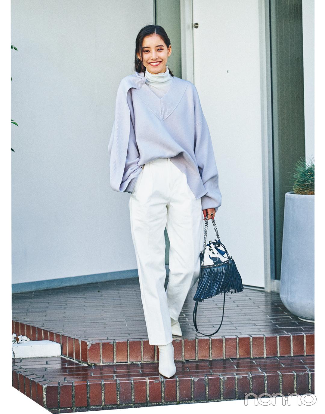 新木優子の冬私服♡ 今すぐマネしたい! ZARAなどお気に入りブランドで最新コーデを披露_1_5