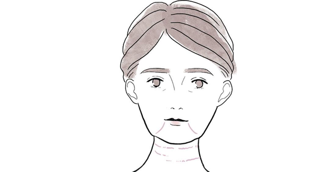 アラフォーの顔の〝たるみ〞2_5