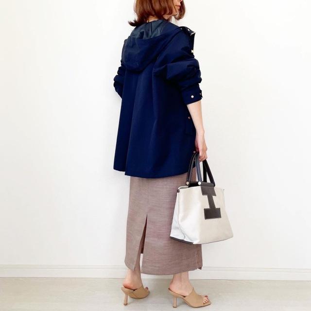 GU新作!脚が長く見えるラップスカート【tomomiyuコーデ】_1_5
