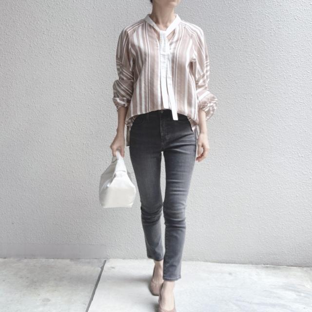 この春のHIT服「シャツ」をアラフォーはこう着る!最旬シャツコーデまとめ|40代ファッション_1_33
