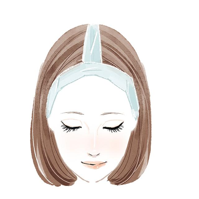 根本白髪を自宅でカラーリングする方法