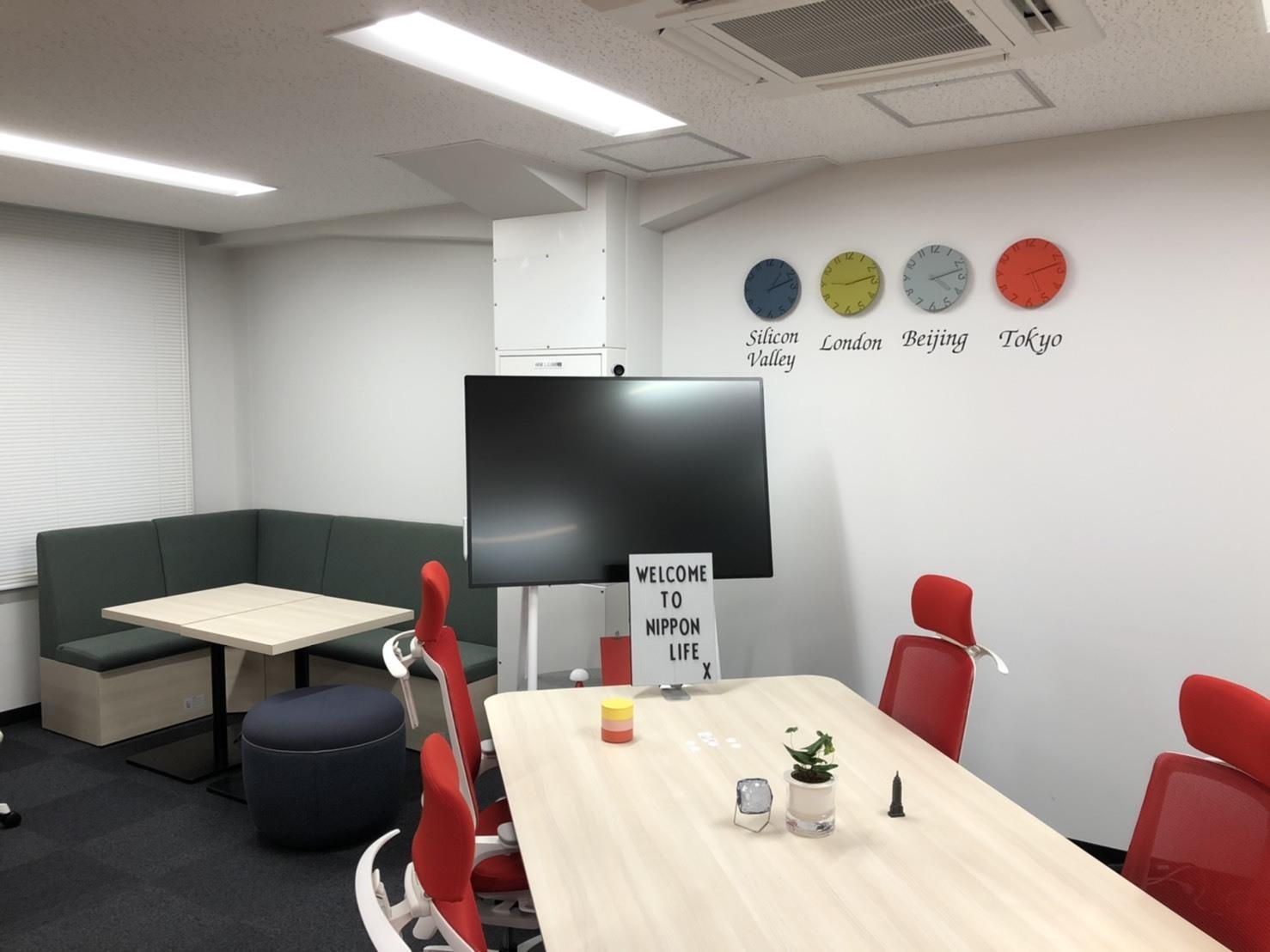 Nippon Life Xの新オフィス「FINOLAB」