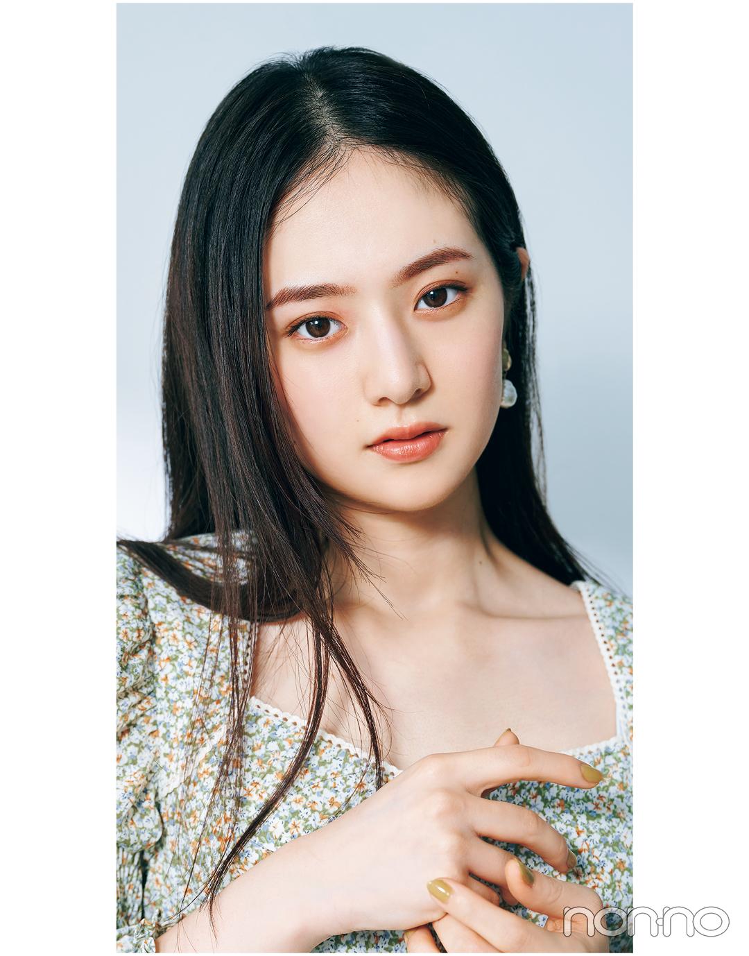 岡本夏美のニュアンス盛れる眉のつくりかたカワイイ選抜モデルカット3-7