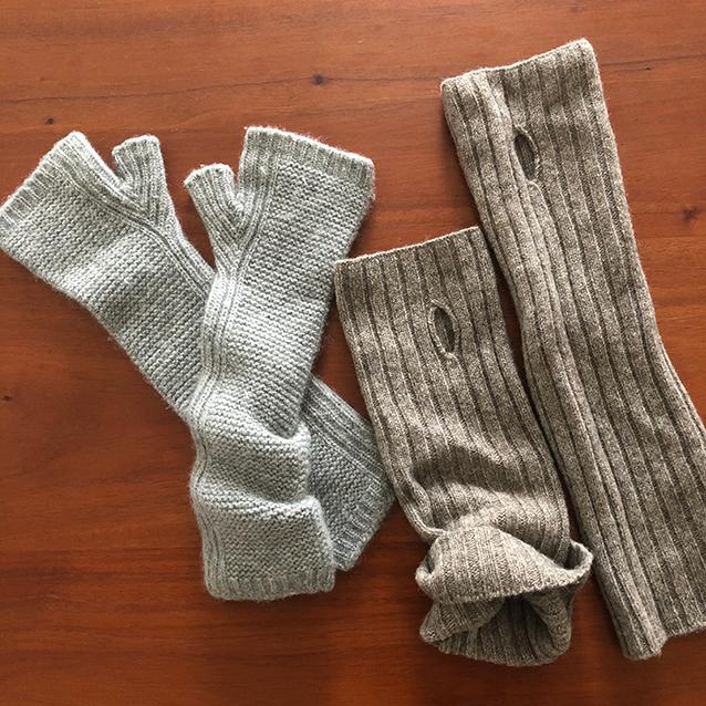 三尋木さんの指ナシ手袋