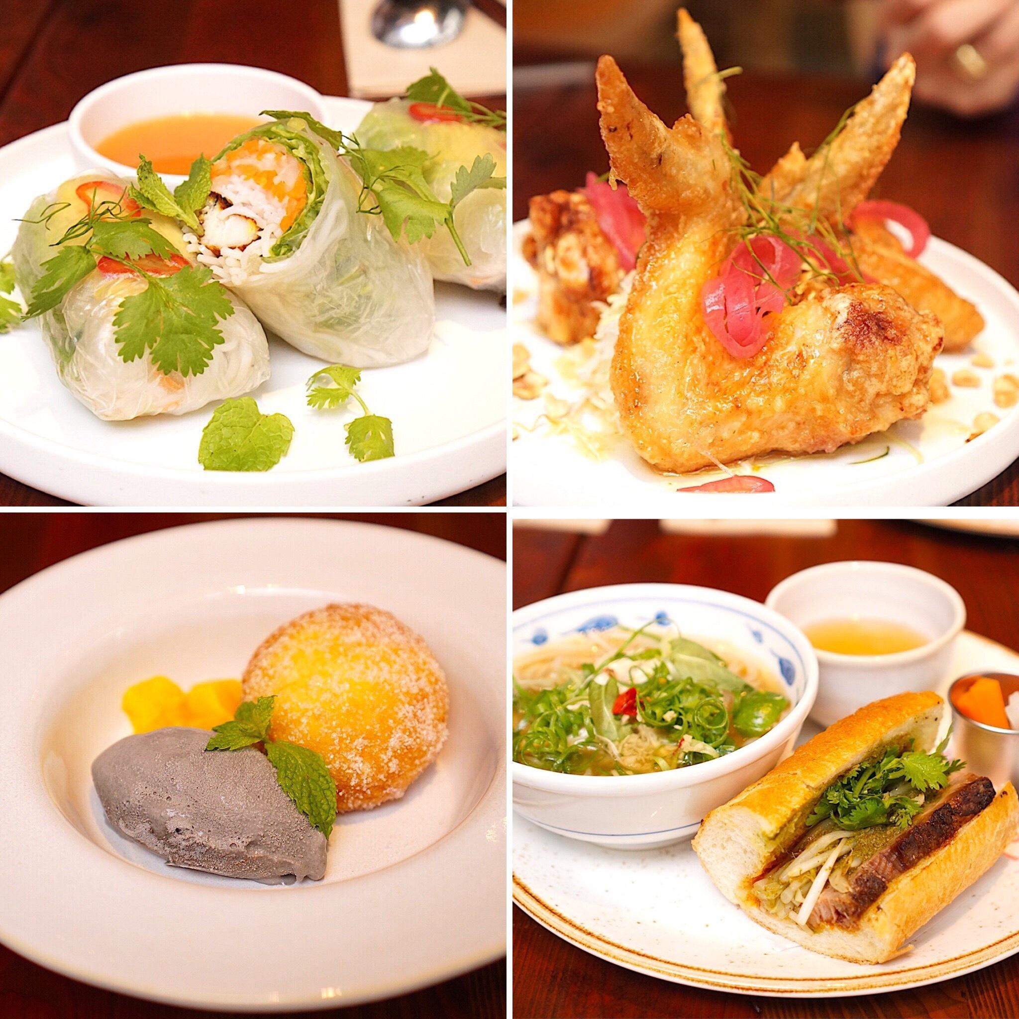N.O.R.Cのデニムワンピースとベトナム料理_1_4