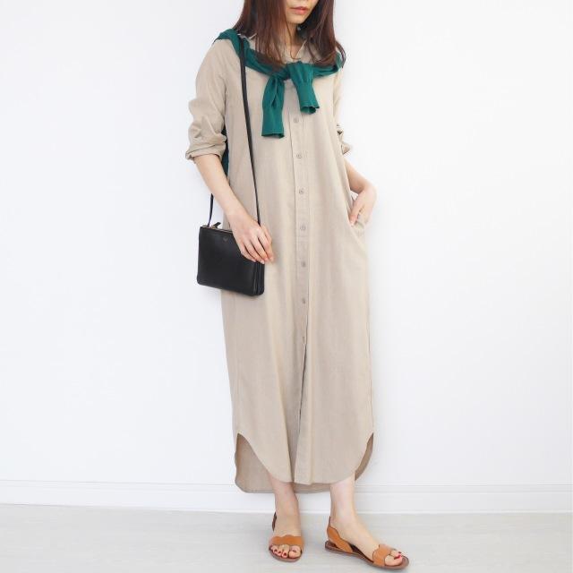 5月の着まわしDiary!「羽織りはどうする?」着るだけ簡単UVカット!_1_6