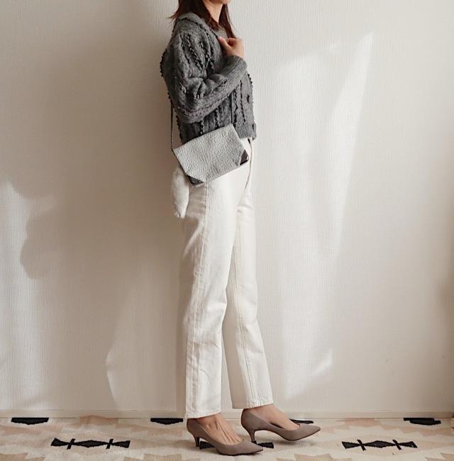 【GU神デニム】の「白」が狙い目!大人も履けるホワイトデニム_1_3